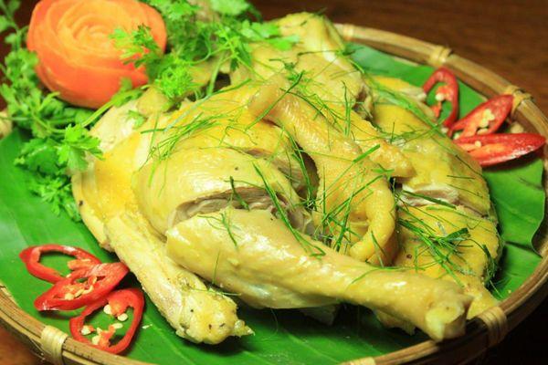 Cách làm gà hấp muối bằng nồi cơm điện