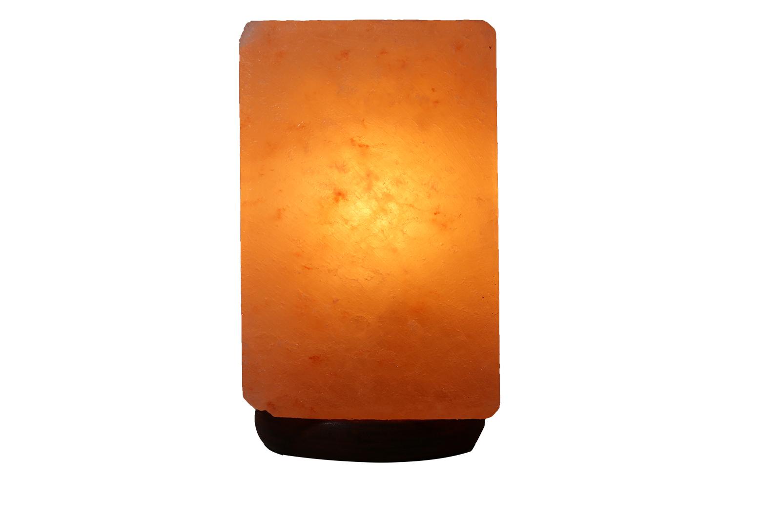Đèn Đá Muối Hình Chữ Nhật Xông Tinh Dầu