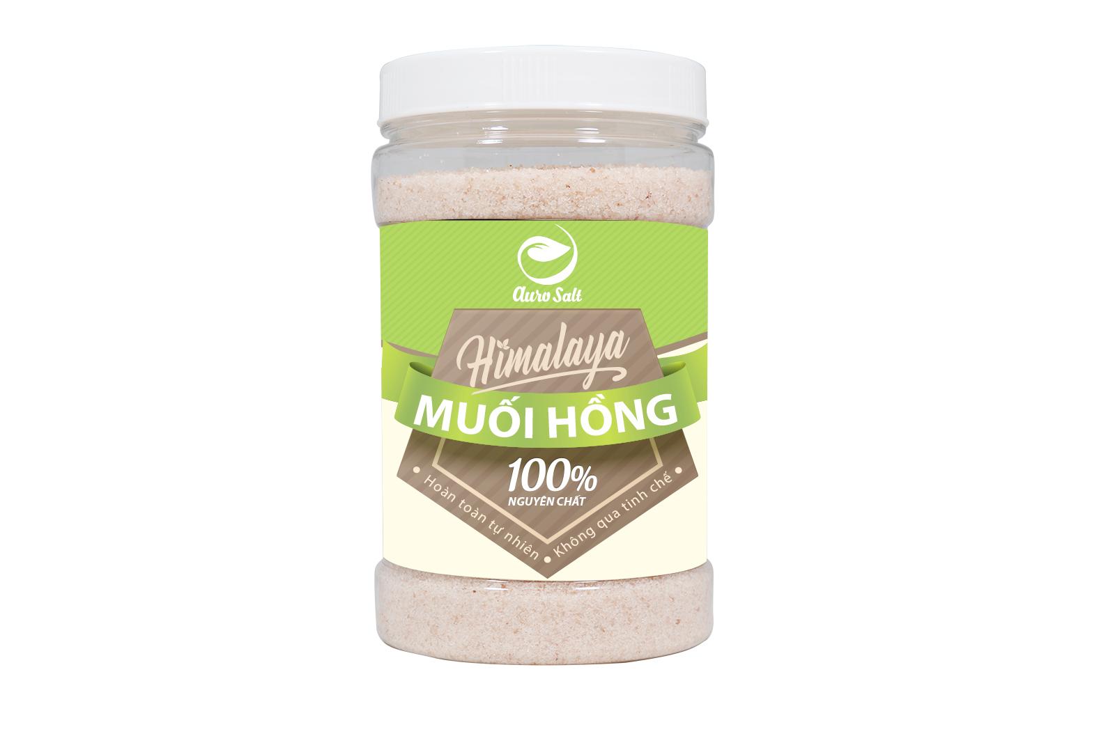 Công dụng bất ngờ từ muối hồng himalaya aurosalt